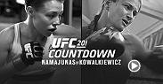 Strawweights Rose Namajunas and Karolina Kowalkiewicz game plan for a bout that could send the winner on to championship contention.