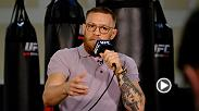 UFC featherweight champion Conor McGregor spoke to media at a private press day at his self-built gym in Las Vegas on Friday. Check out all the highlights and best sound bites from the session.