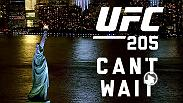 The Octagon travels to New York City for the first time as Madison Square Garden hosts UFC 205 on November 12!