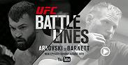 Get an intimate look at the lives of two MMA pioneers, both former UFC heavyweight champions, as they prepare for a battle nearly a decade in the making. UFC Battle Lines: Arlovski vs Barnett is available on YouTube Sunday, Aug. 28.
