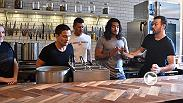 "UFC stars Stephen ""Wonderboy"" Thompson, Joe Benavidez and Elias Theodorou took over the kitchen of Meat and Bread in Vancouver to compete in a sandwich-making contest. Check it out to see who was victorious."