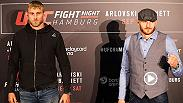 In a must-see co-main event in Hamburg, Germany Saturday on UFC FIGHT PASS, Alexander Gustafsson takes on Jan Blachowicz in a can't-miss light heavyweight showdown. Hear from both fighters and Joe Rogan on the matchup.