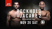Luke Rockhold and Jacare Souza renew their rivalry as the Octagon heads to Melbourne. Don't miss the action on November 26 on FS1.