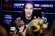 Hear from Cris Cyborg, Lina Lansberg, Renan Barao, Phillipe Nover, Bigfoot Silva and Roy Nelson from Ultimate Media Day as the stars continue preparation for Fight Night Brasilia on FS1 Saturday.