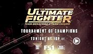 The pressure intensifies and an unorthodox fighter takes on a wild man. Who will earn the last spot in the quarterfinals? Find out on tonight's all-new The Ultimate Fighter at 10pm ET on FS1.