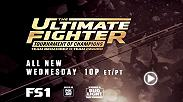 The tension between coaches escalates and then two teammates fight for a spot in the semis. Can their friendship survive? Find out on an all new The Ultimate Fighter on Wednesday at 10pm/7pm ETPT.