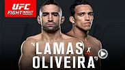 Go inside the matchup of the lights Ricardo Lamas and Charles Oliveira, as the two Top 10 featherweights square off on Saturday at Fight Night Mexico City.
