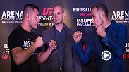 Joe Rogan previews the Fight Night Mexico City main event, featuring former lightweight champ Rafael Dos Anjos and Tony Ferguson. Don't miss the action Nov. 5 on FS1.