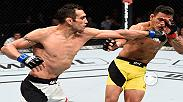 Watch Tony Ferguson in the Octagon after his win over Rafael Dos Anjos at Fight Night Mexico City. The win was Ferguson's ninth in a row in the lightweight division.