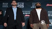 Joe Rogan previews a pivotal middleweight bout between Chris Weidman and Yoel Romero. Weidman and Romero will square off on Nov. 12 at UFC 205 in Madison Square Garden.