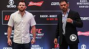 Joe Rogan previews the Fight Night Sao Paulo main event, featuring Ryan Bader and Rogerio Nogueira.