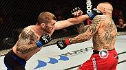 Watch Stevie Ray in the Octagon at Fight Night Belfast after his win over Ross Pearson.