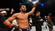 Watch Gegard Mousasi in the Octagon after his first-round TKO victory over Uriah Hall at Fight Night Belfast.