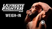 Watch The Ultimate Fighter Finale official weigh-in.