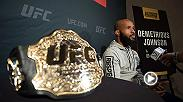 UFC correspondent Megan Olivi sat down with UFC flyweight champion Demetrious Johnson to talk about his title defense coming up at The Ultimate Fighter Finale Saturday night and about where he is now as one of the most dominant champs in UFC history.