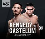 Go inside the middleweight matchup at UFC 206 between Tim Kennedy and Kelvin Gastelum.