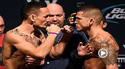 Recap the action from Friday's UFC 206 weigh-in, featuring main event fighters Max Holloway and Anthony Pettis.