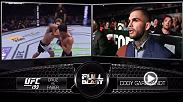 Watch Cody Garbrandt Octagon-side giving his commentary during UFC 199's co-main event, featuring the bantamweight title fight between Dominick Cruz and Urijah Faber.