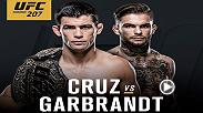 Dominick Cruz and Cody Garbrandt face off for the UFC's bantamweight title and, of course, bragging rights. Don't miss the action at UFC 207 on Dec. 30.