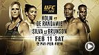 History will be made on Feb. 11, as Holly Holm and Germaine De Randamie will fight for the first UFC women's featherweight belt.