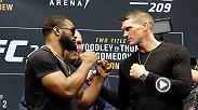 Hear from the superstars preparing to do battle at UFC 209 in Las Vegas. Tyron Woodley, Stephen Thompson, Khabib Nurmagomedov and Tony Ferguson all spoke at Media Day Thursday. Tickets are now on sale.