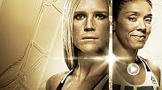 Take a closer look at the inaugural UFC women's bantamweight title fight between Holly Holm and Germaine De Randamie. Plus, Anderson Silva meets Derek Brunson in the co-main event and middleweights Jacare Souza and Tim Boetsch collide.
