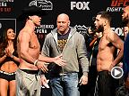 Fight Night Denver: Weigh-in Faceoffs