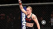 Watch Valentina Shevchenko in the Octagon go face-to-face with champion Amanda Nunes after Shevchenko defeated Julianna Pena via armbar at Fight Night Denver.