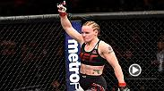 Watch Valentina Shevchenko backstage interview after her victorious win over Julianna Pena at UFC Fight Night Denver.