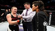 UFC President Dana White talks backstage after Fight Night Denver, which featured Valentina Shevchenko's victory over Julianna Pena to earn a title shot against Amanda Nunes.