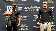 Take an extended look inside the main and co-main event at UFC 209, featuring the welterweight title rematch between Tyron Woodley and Stephen Thompson and the interim lightweight title fight between Khabib Nurmagomedov and Tony Ferguson.