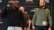 They said what?!?!? Check out all the highlights from UFC Fight Night media day in Halifax, Canada, as the headliners of Sunday's night of big fights, Derrick Lewis and Travis Browne, speak to the media.