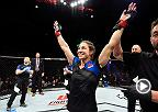 Watch Sara McMann talk backstage after her impressive submission victory over Gina Mazany at Fight Night Halifax.