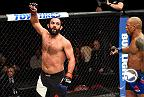 Watch Johny Hendricks in the Octagon after his victory Hector Lombard in his middleweight debut at Fight Night Halifax.