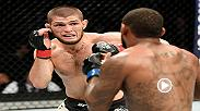 Watch Khabib Nurmagomedov's dominant performance over Michael Johnson at UFC 205. Nurmagomedov's win earned him a shot at the interim lightweight title against Tony Ferguson at UFC 209.
