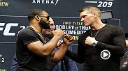 "One of the most exciting title rematches in welterweight history goes down at UFC 209 when current champ Tyron Woodley takes on Stephen ""Wonderboy"" Thompson this Saturday at 10pm ET only on PPV!"