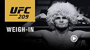 Watch the UFC 209 official weigh-in on Saturday, March 4 at 12am GMT live from T-Mobile Arena.