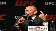 Watch the highlights from March 3's official press conference between Michael Bisping and Georges St-Pierre.