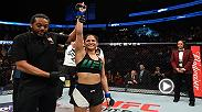 Cynthia Calvillo caught up with Megan Olivi backstage at UFC 209 to talk about her UFC debut fight win over Amanda Cooper.