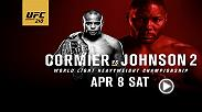 Witness the power of UFC light heavyweight champion Daniel Cormier and challenger Anthony Johnson as the two square off for the title at UFC 210 on April 8.