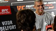 Hear from Vitor Belfort and Kelvin Gastelum from Thursday's Ultimate Media Day in Fortaleza Brazil ahead of their middleweight main event Saturday night on FS1.