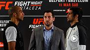 Joe Rogan previews a pivotal lightweight matchup between Edson Barboza and Beneil Dariush. Don't miss their clash on the FS1 main card during Fight Night Fortaleza on March 11.