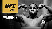 Watch the UFC 210 official weigh-in on Friday, April 7 at 4pm/1pm ETPT live from the KeyBank Center in Buffalo, New York.