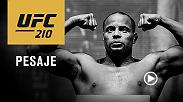 Mira la ceremonia de pesaje de UFC 210, el viérnes 7 de abril a las 2pm MEX/5pm CHI, en vivo desde el KeyBank Center en Buffalo, New York.