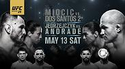 UFC 211 is the biggest, baddest card of 2017. Don't miss the action on May 13 featuring Stipe Miocic, Junior Dos Santos, Joanna Jedrzejczyk, Jessica Andrade and more!