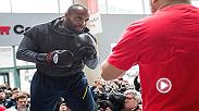 Recap all the action from Thursday's UFC 210 Open Workout, featuring champion Daniel Cormier, challenger Anthony Johnson, and co-main event fighters Chris Weidman and Gegard Mousasi.
