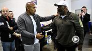 As if retaining his light heavyweight crown wasn't enough of a reward, Daniel Cormier got quite the honor at UFC 210 when he got to meet Buffalo legend and former NFL star Thurman Thomas. We've got the scoop on the meeting.