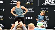 For UFC women's strawweight contender Michelle Waterson, it will always be family first. Waterson takes on Rose Namajunas at Fight Night Kansas City on Saturday.
