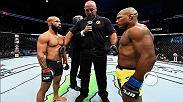 UFC President Dana White talks backstage after Fight Night Kansa City, which featured Demetrious Johnson's victory over Wilson Reis as he defended his Flyweight Champion title for the 10th time.