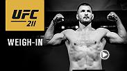 Watch the UFC 211: Miocic vs Dos Santos 2 official weigh-in on Friday, May 12 at 7pm/4pm ETPT live from American Airlines Center in Dallas, Texas.